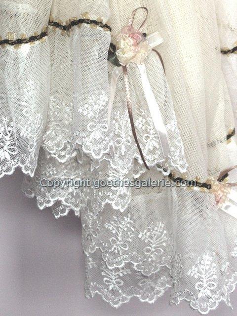 tischtuch tischdecke bestickt rosen r schen t ll spitze ebay. Black Bedroom Furniture Sets. Home Design Ideas