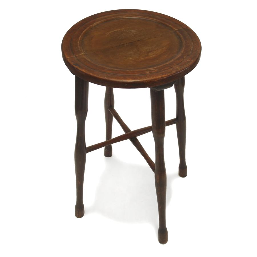 beistelltisch antiker blumentisch hocker holz massiv blumenst nder formsch n ebay. Black Bedroom Furniture Sets. Home Design Ideas