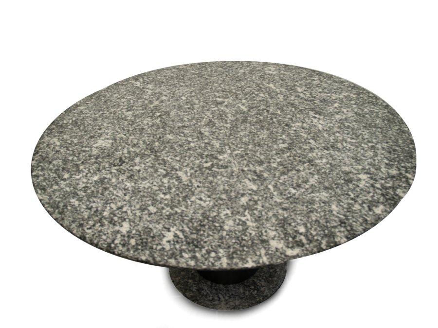 Esstisch Granit Oval ~ GRANIT Esstisch ausziehbar rund oval SCHWER TISCH Speisetisch Stein grau schw
