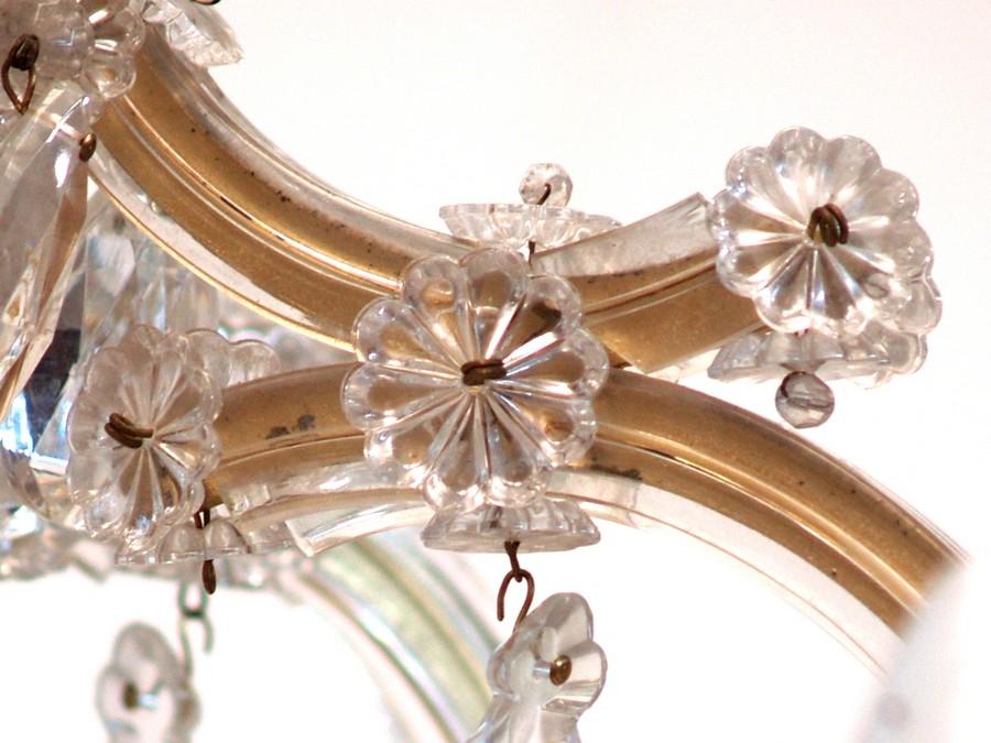 original maria theresia kronleuchter 12 flammig luster ppiger behang prunkst ck ebay. Black Bedroom Furniture Sets. Home Design Ideas