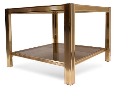 beistelltisch glas messing angebote auf waterige. Black Bedroom Furniture Sets. Home Design Ideas