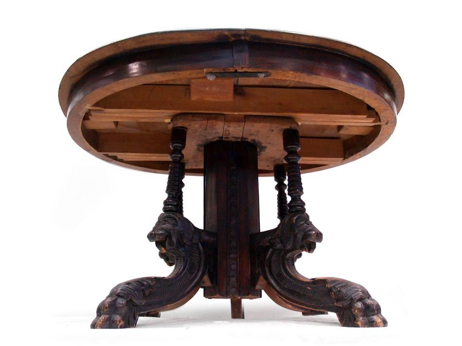Antiker Esstisch Ausziehbar runder tisch ausziehbar alter runder tisch ausziehbar