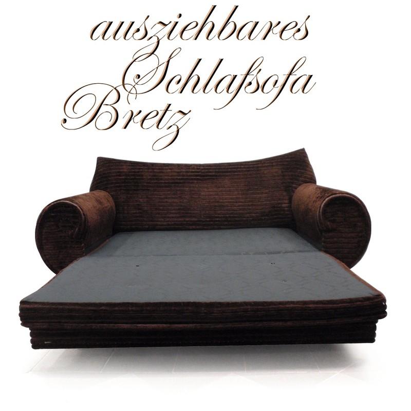 Bretz sofa gaudi komplett original ausziehbares for Sofa 60er gebraucht