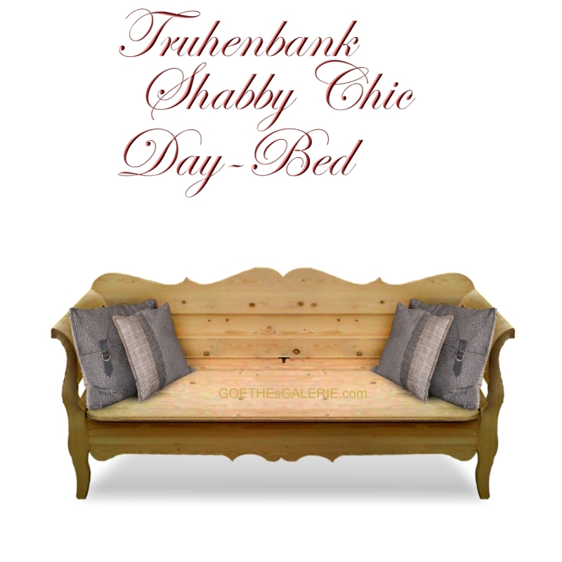 truhenbank sitztruhe naturholz schlaf sofa k chenbank. Black Bedroom Furniture Sets. Home Design Ideas