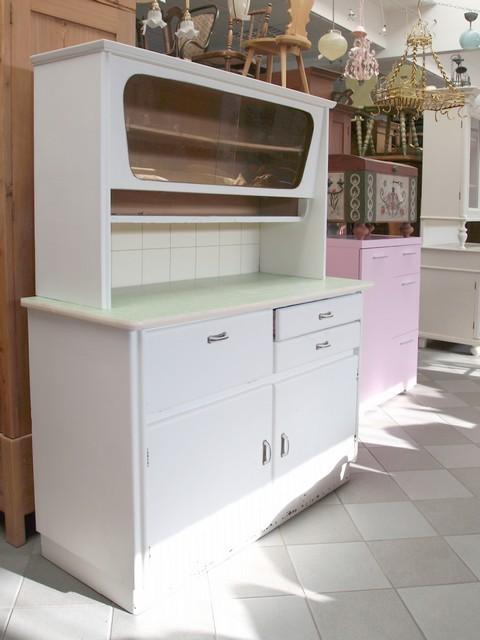 sch nes buffet k chenschrank wei pastell artdeco bis. Black Bedroom Furniture Sets. Home Design Ideas