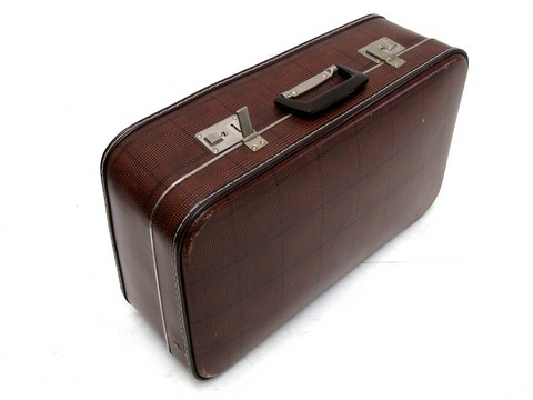 kleiner koffer vintage reisekoffer damenkoffer shabby chic deko top teil ebay. Black Bedroom Furniture Sets. Home Design Ideas