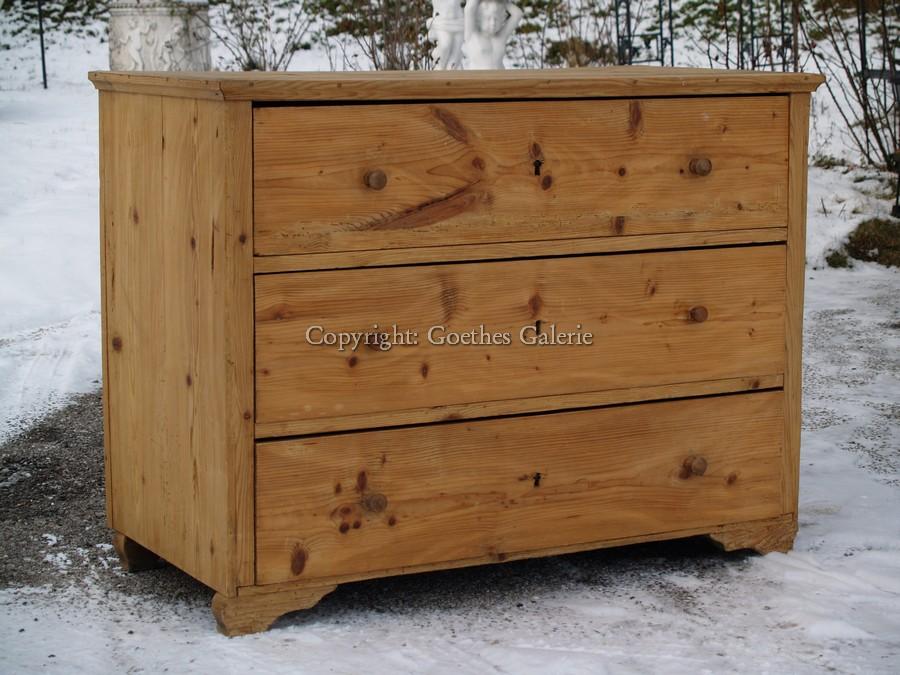 kommode antik holz naturholz m laden sauberes traumteil. Black Bedroom Furniture Sets. Home Design Ideas