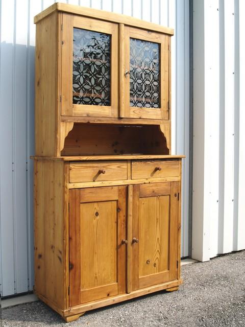 antiker bauernschrank schrank buffet k chenschrank f shabby chic landhaus k che ebay. Black Bedroom Furniture Sets. Home Design Ideas
