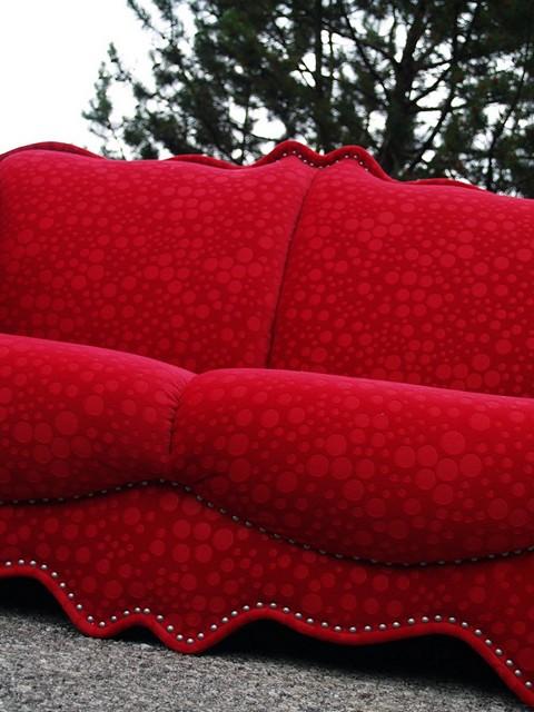 Bretz Sofa Designklassiker Emily Rot Wundersch Nes Design Sofa Traumteil Ebay