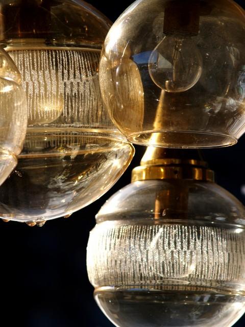 h ngelampe kaskadenlampe midcentury retro luster leuchter. Black Bedroom Furniture Sets. Home Design Ideas